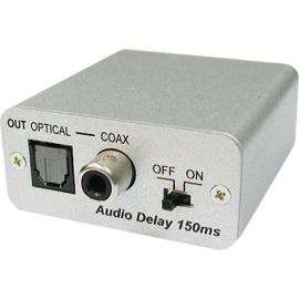 Analog to Digital Audio Converter with Audio Delay