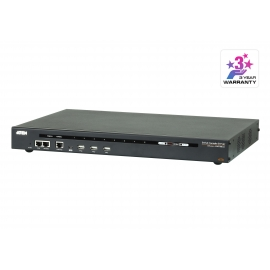 8-Port Serial Console Server with Dual Power/LAN