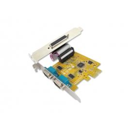 2-port RS-232 & 1-port Parallel PCI Express Multi-I/O Board