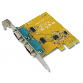 2-port RS-232 High Speed PCI Express Board