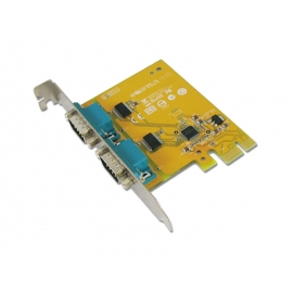 2-port RS-232 PCI Express Board