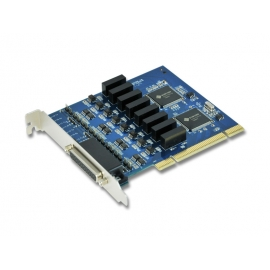 Industrial 8-port RS-422/485 with Surge & Isolation PCI-Express Serial Card