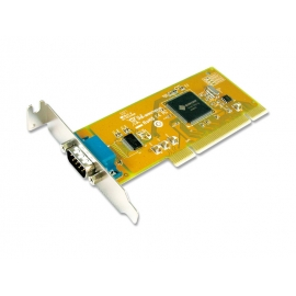 1-port RS-232 High Speed Low Profile Universal PCI Serial Board