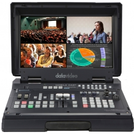 4-Channel HD/SD HDBaseT Portable Video Streaming Studio