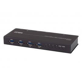 4 x 4 USB 3.2 Gen 1 Industrial Hub Switch