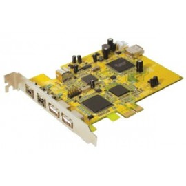 PCI Express Card USB 2.0 & Firewire
