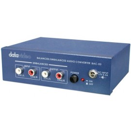 unbalanced XLR/RCA audio converter