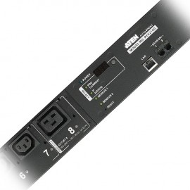 Eco PDU 16 Outlet with Proactive Overload 0U Rack [Bank Level monitoring] (C13x14, C19x2) | ATEN