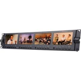 HD/SD 4.3 Inch 16:9 / 4:3 TFT LCD Monitor Bank