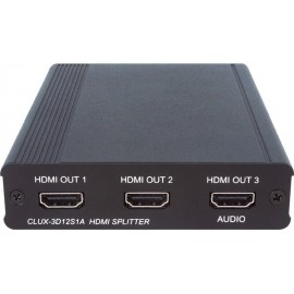 1×2 HDMI Splitter and 3D Audio Amplifier