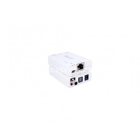 TOSLINK/COAX to Single CAT5e/6/7 Receiver