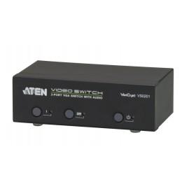 2 Port VGA Switch with Audio