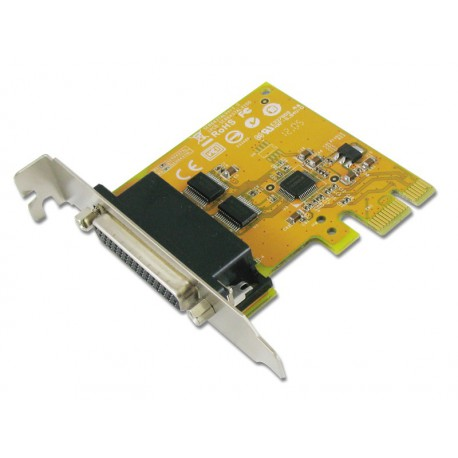 2 port RS-232 Low Profile PCI Express Card