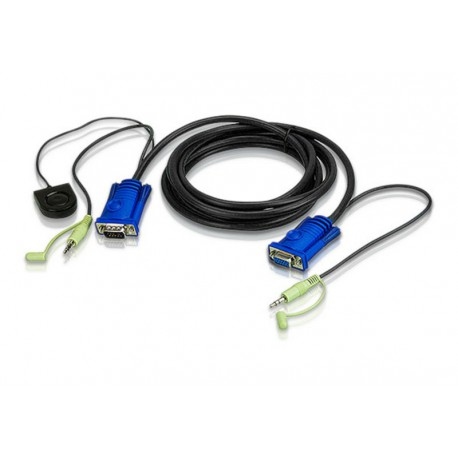 3m VGA Cable built-in Port Switching