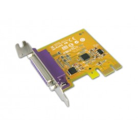 1-port IEEE1284 Parallel PCI Express Low Profile Board