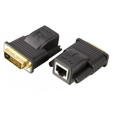 Aten VE066 mini Cat5 DVI extender