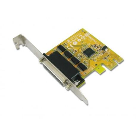 4-port RS-232 PCI Express Card
