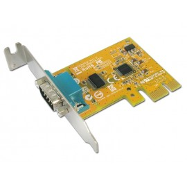 1-port RS-232 PCI Express Low Profile Card