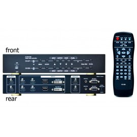4k Video Wall Box 2 IN 4 OUT 180 ํ Rotate/flip support