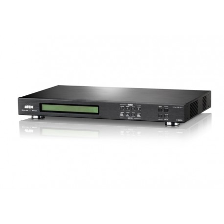4x4 HDMI Video Wall+Seamless Matrix Switch with Scaler