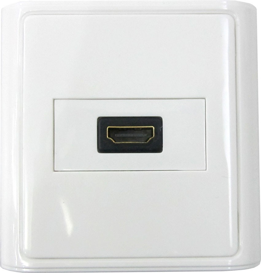 hdmi wall plate HDMI Outlets Plates