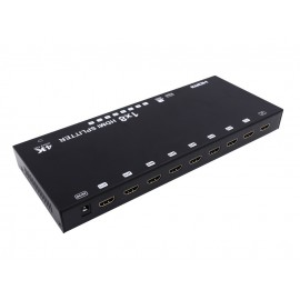 8 Port HDMI Splitter with 4K support