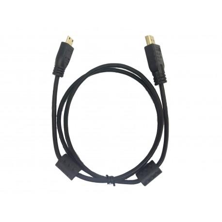 1 meter minHDMI to HDMI (M/M)