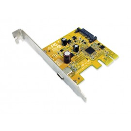 USB 3.1 Enhanced SuperSpeed Single port PCI Express Host Card with Type-C Receptacle