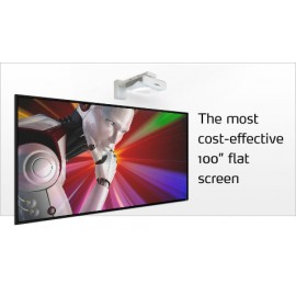 "100"" dnp LaserPanel with Short Throw Projector & Touch Screen Support"