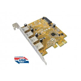 USB 3.0 4-port PCI Express Host Controller