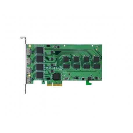 4-Port HDMI Capture Card 1920x1080@30Hz Hardware Compression