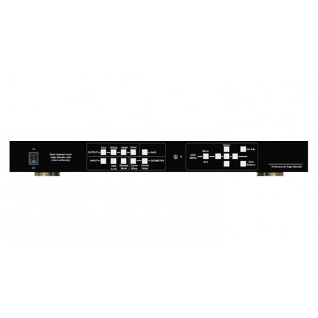 Video Wall Controller Curved edge blender support