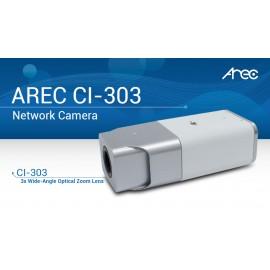 3x Wide-Angle Optical Zoom  Network Camera