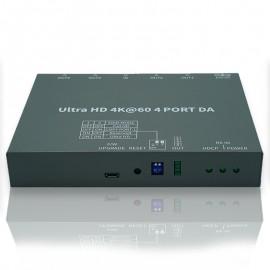 4K HDMI Splitter 4-Port (4K@60Hz 444)