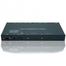 4K HDMI Matrix Switcher 4 Input x 2 Output (4:4:4@60Hz)
