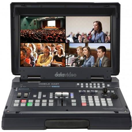 HD/SD 4-Channel HDBaseT Portable Video Studio