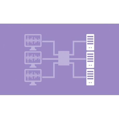 Computer modules for analogue KVM matrix systems