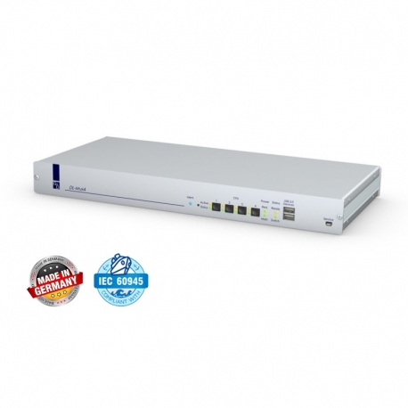 4 Port 4K DVI KVM Switch in mission-critical applications