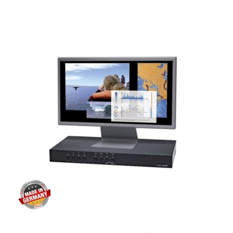 Real Time Multiviewer & Quad KVM Switch