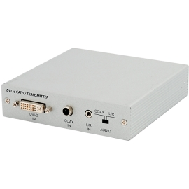 DVI to Dual CAT5e/6/7 Transmitter
