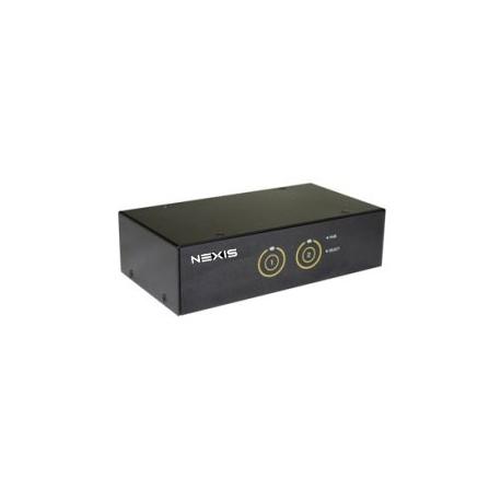 2-Port Smart Touch HDMI USB KVM Switch w/ USB 3.0 Hubs