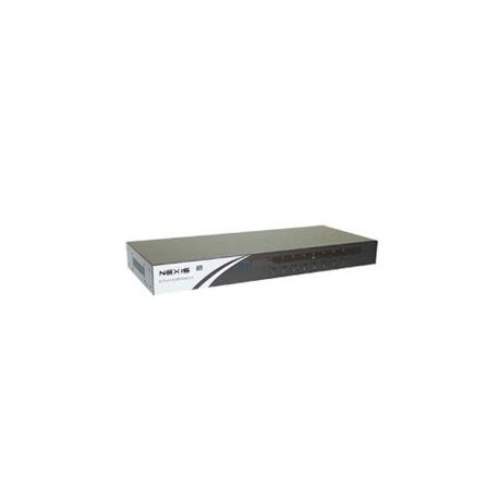 8-Port Rackmountable USB-PS/2 KVM Switch