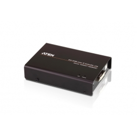USB DVI-D Single Display Slim KVM Over IP Transmitter