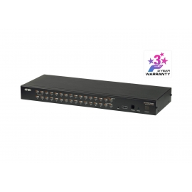 32-Port Cat 5 KVM Switch
