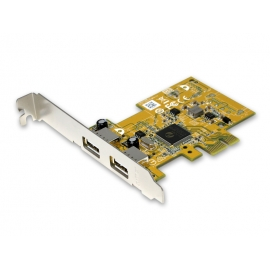 2-port USB 2.0 PCI Express Add-On Card