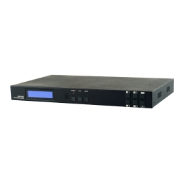 4×4 HDMI over HDBaseT Matrix with IR, RS-232, PoC (PSE), LAN & 2 Mirrored HDMI Outputs