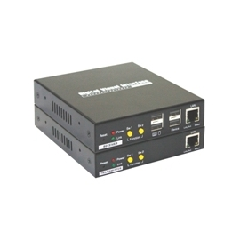 CAT5 DVI KVM Extender Over LAN w/ Audio & Mic