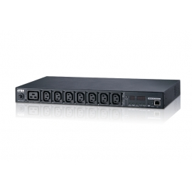 Eco PDU 8 Outlet 20A/16A 1U Metered (C13x7, C19x1) | ATEN