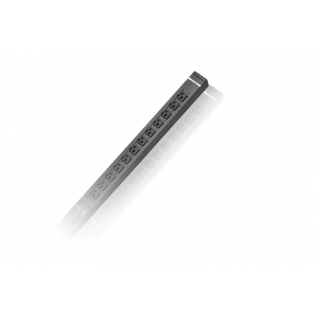 30A 24-Outlet Metered Thin Form Factor eco PDU