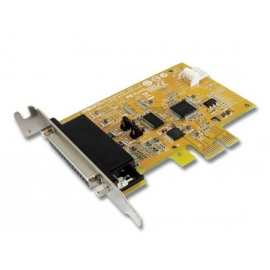 1-port High Speed RS-232 with Power Output & 1-port Parallel PCI Express Multi-I/O Low Profile Board